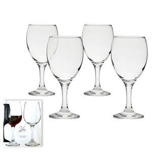 4 pc Wine Goblet Set - 13.7 Ounce